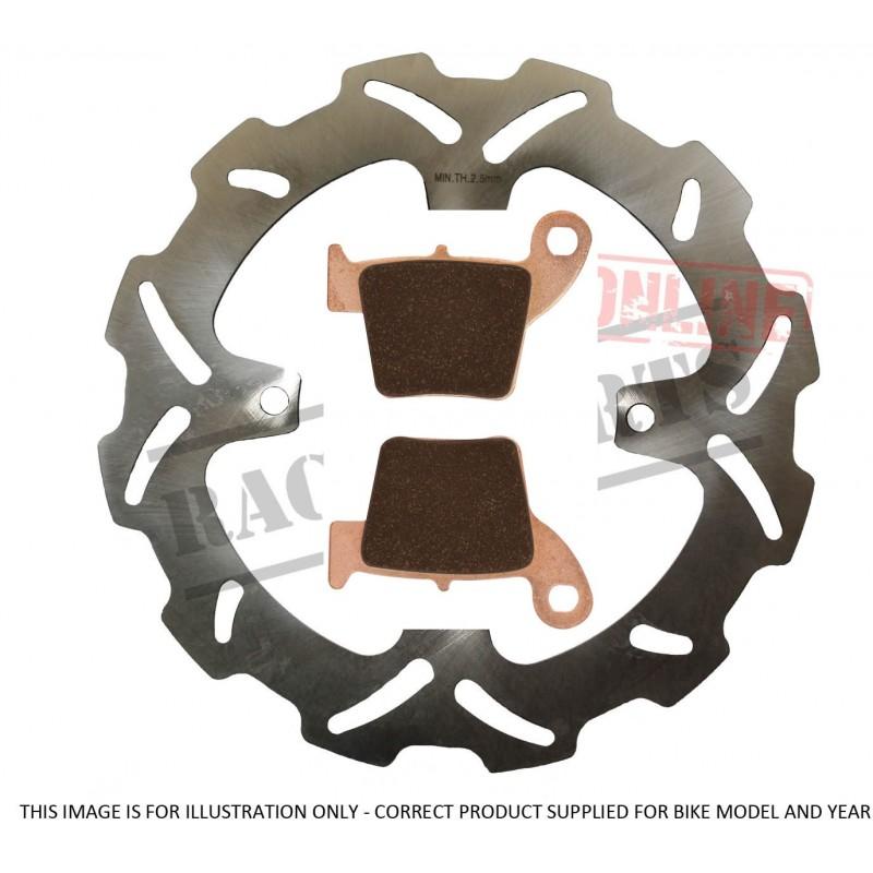 MSD Brake Disc & Brake Pad...