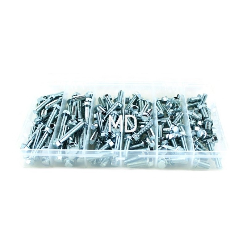 279-L35-400A M6 Assortment Bolt Kit-150pcs