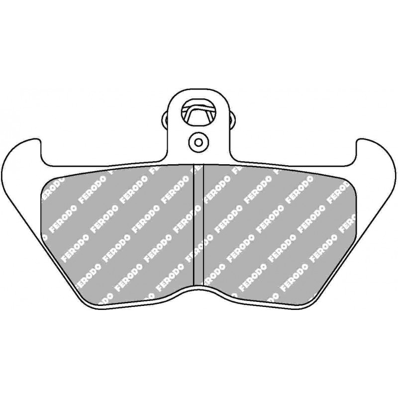 220-FDB2050 Ferodo Brake Pad