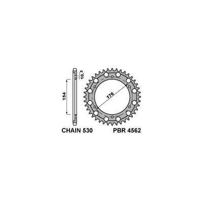 213-R-4562 PBR Rear Sprocket
