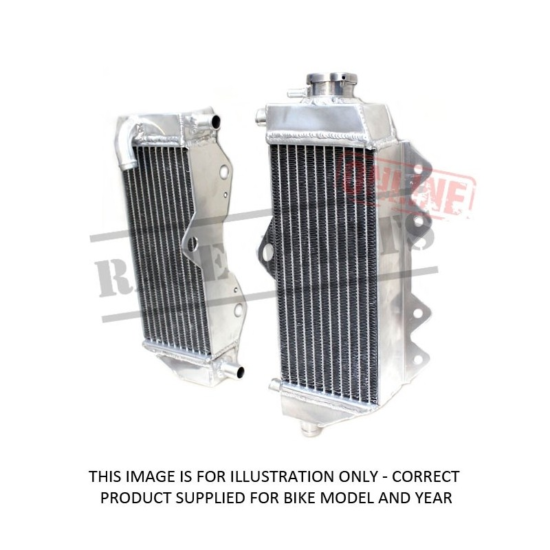 239-H2250A MSD Radiator...